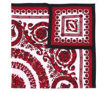 Baroque floral print scarf