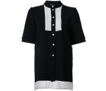 'Entitle' Hemd aus Seidenorganza