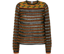 Pullover mit durchbrochenem Muster