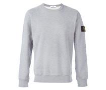 arm patch sweatshirt