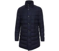 Flannel Wool Puffa Coat - men
