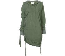 asymmetric tent jacket - Unavailable