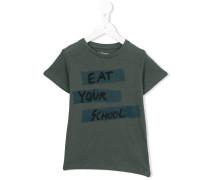 - 'Eat Your School' T-Shirt - kids - Baumwolle