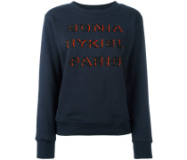 Sweatshirt mit verziertem LogoDesign