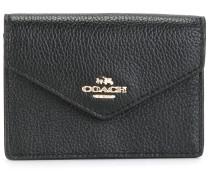 Portemonnaie mit LogoSchild