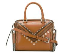 'Letra' Handtasche mit Nieten