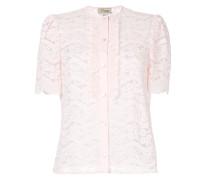 Lunar lace-detail blouse