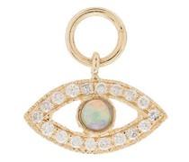 14kt Gelbgoldanhänger mit Opal