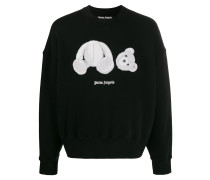 Sweatshirt mit Bären-Patch