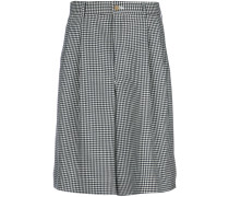 gingham tailored shorts