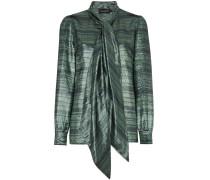 Susanna Silk Neck Scarf Striped Blouse