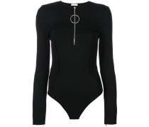 zipped bodysuit