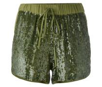 P.A.R.O.S.H. Shorts mit Pailletten