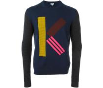 Intarsien-Pullover - men - Wolle - L