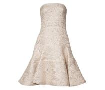 Ärmelloses Kleid mit ausgestelltem Schnitt