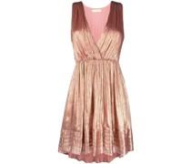 Kleid mit Metallic-Effekt