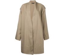 Mantel mit angeknöpften Ärmeln