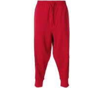 cropped tracksuit bottoms