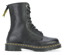 Stiefel mit Schnürung im Military-Look