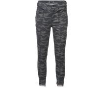 Jeans mit Camouflagemuster