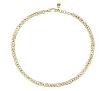 18kt Gelbgold-Choker mit Diamanten