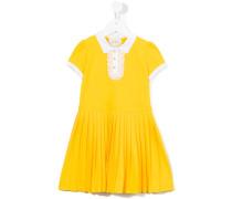 Kleid mit Falten - kids - Baumwolle/Elastan - 6