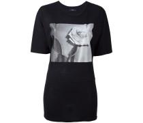 T-Shirt mit Rosen-Print - women