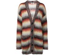 striped mohair coatigan - Unavailable