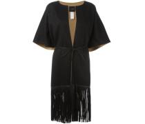 - Kurzärmeliger Mantel mit Fransen - women