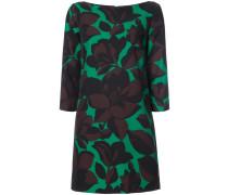 macro floral print dress