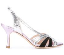 Sandalen mit Textur
