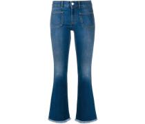 Ausgestellte 'Kick' Skinny-Jeans