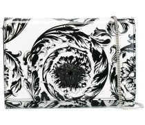 'Palazzo Medusa' patent foldover clutch