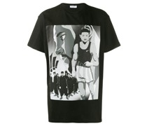 T-Shirt mit Comic-Print
