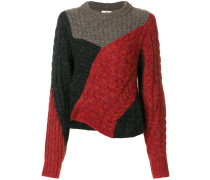 'Daryl' Pullover mit Zopfmuster
