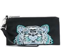 Portemonnaie mit Tigerstickerei
