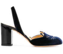'Kitty' Pumps mit Slingback-Riemen