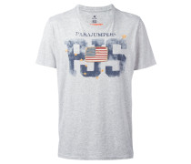 T-Shirt mit Flaggen-Patch