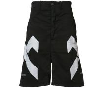 Shorts mit geometrischem Print - men