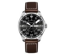 'Khaki Pilot Day Date' Armbanduhr, 46mm