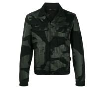 Jacke mit Camouflage-Print