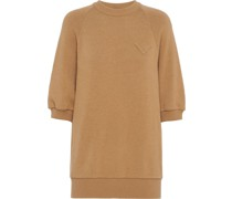 Kurzärmeliger Pullover