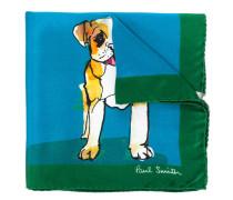 Einstecktuch mit Hunde-Print