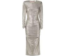 'Lunar Zee' Kleid im Metallic-Look