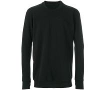 crew neck block cut sweatshirt