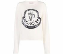 Pullover mit Logo-Stickerei