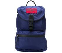 packable logo plaque backpack