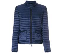 round neck padded jacket