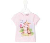 T-Shirt mit Häschen-Print - kids