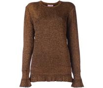 Pullover mit Rüschensaum